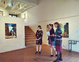 "Vernissage ""Miraculous Places"" Taragon Museum"